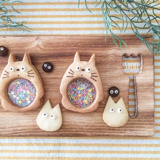 Veja algumas ideias de #kawaiifood com alguns Cookies um pouco diferentes, afinal eles são de comer ou de brincar?