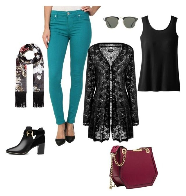 """""""Teal and Maroon"""" by leslie-lafferty-lonergan on Polyvore featuring Tom Ford, Hudson, TravelSmith, Ted Baker and Monsoon"""