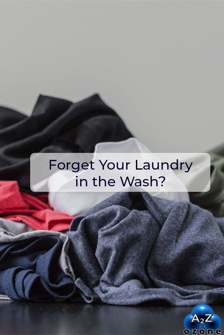 Forget Your Laundry In The Wash? In 2020