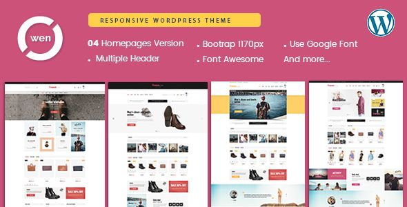 Owen - Mobile Optimized Multipurpose WordPress Theme