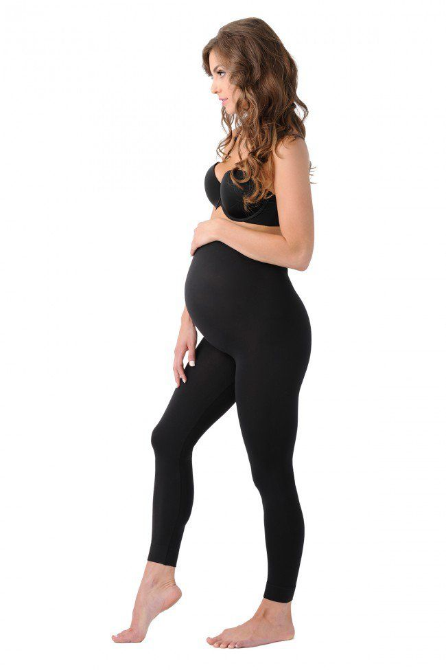 My favorite leggings for pregnancy! Slims your pregnant belly as well as your hips and thighs. Lifts the booty. Can be worn before and after pregnancy as well.