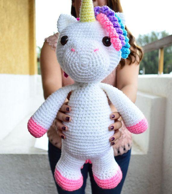 Amigurumi Unicornio Paso A Paso : 25+ melhores ideias sobre Polvo de croche no Pinterest ...