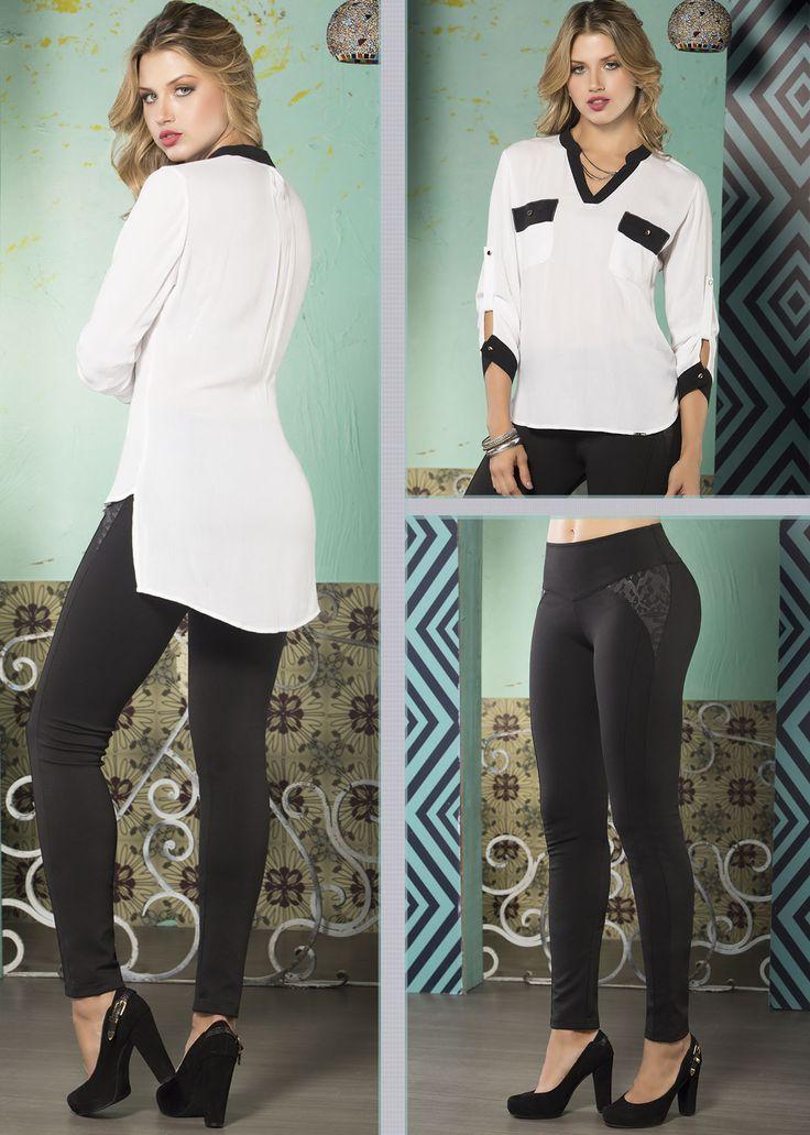 Si buscas un look ideal para ir al trabajo, esta es una buena opción www.jeanstyt.com/Tienda/es #YoVistoTyt #YoAmoTyt #TytJeans #Moda #Fashion #Mujeres #RopaColombiana #ModaFemenina #Colombia #jeans #jeanslevantacola #RopaDeMujer #PushUp #ComprasEnLinea #FelizJueves