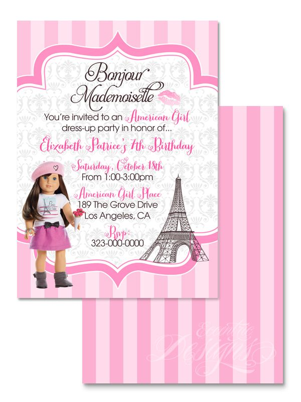 122 best children birthday party invitation designs images on, Birthday invitations