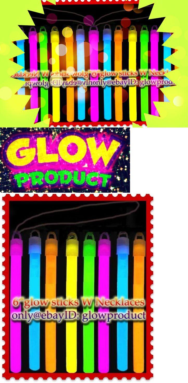 Glow Sticks 51019: Brand New 125 - 6 Glow Sticks W Necklaces Party Favors Bracelets Neon Lights -> BUY IT NOW ONLY: $34.27 on eBay!