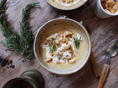 Veggie Fish: Krém z pečené cizrny a květáku