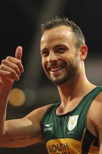 Oscar Pistorius!