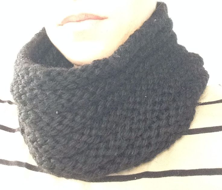 Snood point de godron
