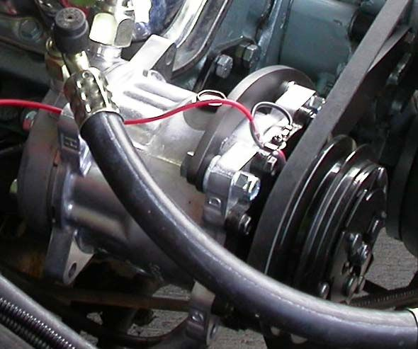 1966 67 GTO LeMans A C Rotary Compressor Upgrade Kit Air ...
