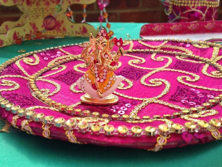 Ganesha, perfect favour gift for a Hindu wedding by www.fuschiadesigns.co.uk.