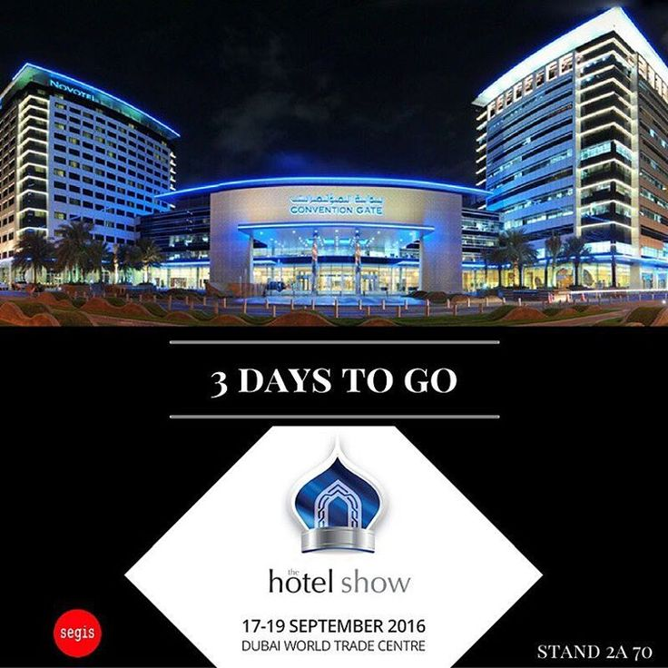 ▶️ Next destination: Dubai, The Hotel Show ▶️ Countdown started: - 3 days ▶️ Info: www.thehotelshow.com Find us at stand Top Decor - Segis 2A 70 Contacts in UAE:  Amer Askari, General Manager Top Décor [decortop@emirates.net.ae]  #Segis #SegisDesign #ItalianDesign #TheHotelShow #Dubai #Emirates #contractdesign #hospitality #interiors #interiordesign