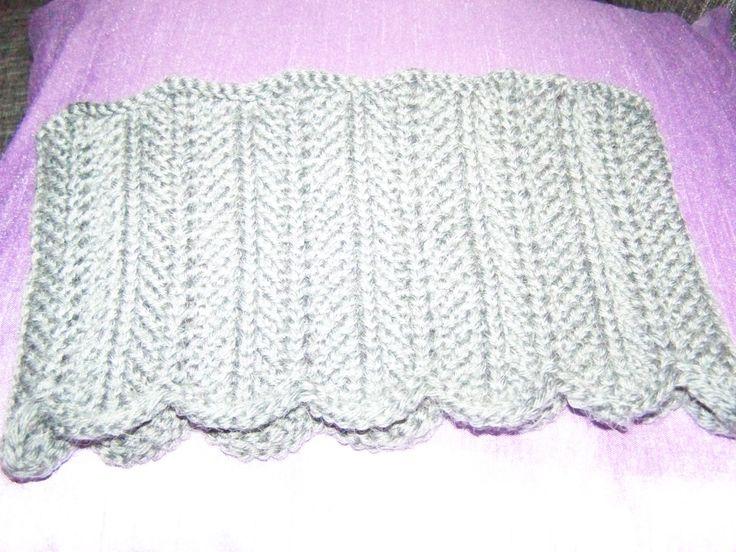 strikket pannebånd