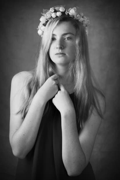 Girl with Flower Crown - Australian Photography magazine
