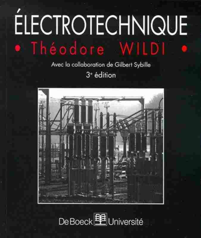 Electrotechnique Theodre Wildi Movie Posters Theodore Poster