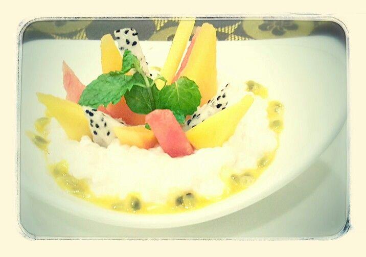 Tropical fruit by #MaisonViehanoi Restaurant ♡♥♡♥