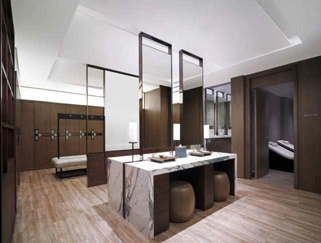 health club locker room design | SHANGRI-LA HOTEL, BANGKOK'S NEW 45 MILLION BAHT HEALTH CLUB
