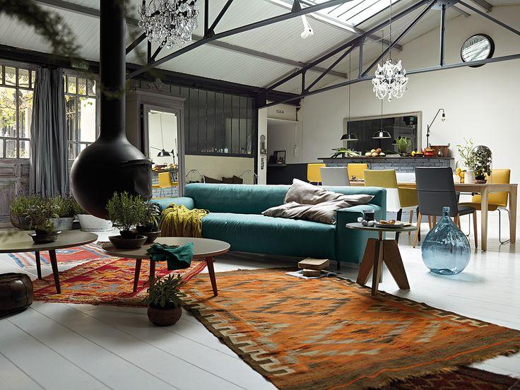 Rolf Benz Studio, Boston, MA.              Grata sofa