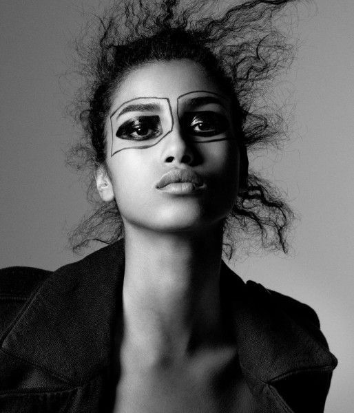 Snapshot: Imaan Hamman by Daniel Jackson for Wall Street Journal Magazine | The Fashion Bomb Blog