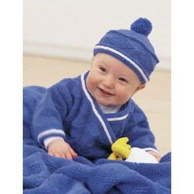 Patons Diamond Set Free Baby Knitting Pattern. Skill Level: Easy Sizes: 6 months, 12 months, 18 months and 24 months Diamond-inspired striped set for baby including a hat, jacket, pants, and slippers. Free Pattern