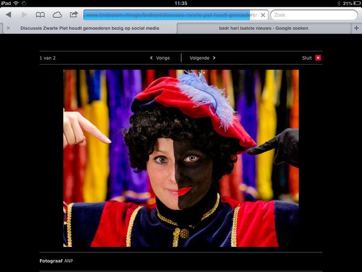 Zwart of wit? Een populair onderwerp in de social media: Zwarte Piet.