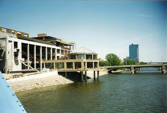 Grand Rapids Public Museum under construction - June 6, 1993