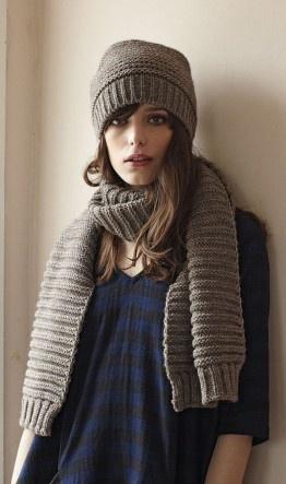 chunky knit...