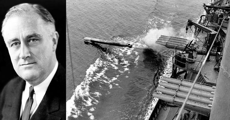 En Route to North Africa, FDR Was Almost Killed by a Torpedo Fired By A US Navy Destroyer - https://www.warhistoryonline.com/featured/fdr-torpedo-us-navy-destroyer.html