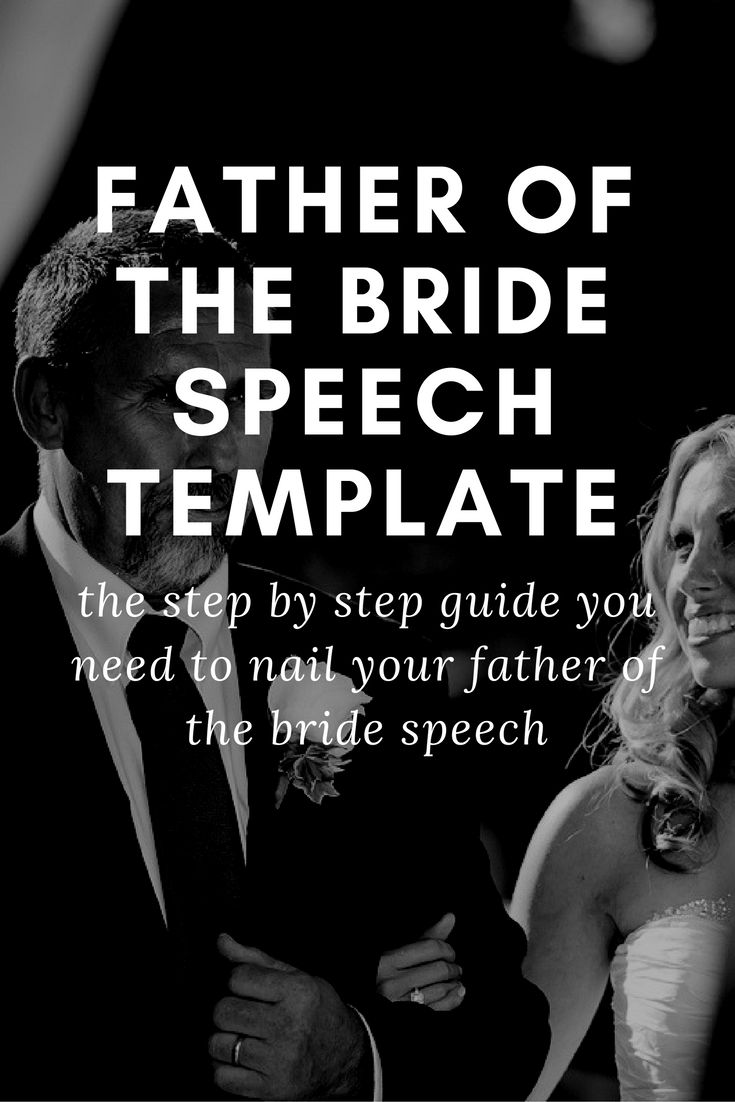 Wedding Speeches Father Of The Bride Templates: 11 Best Father Of The Bride Speeches And Toasts Images On