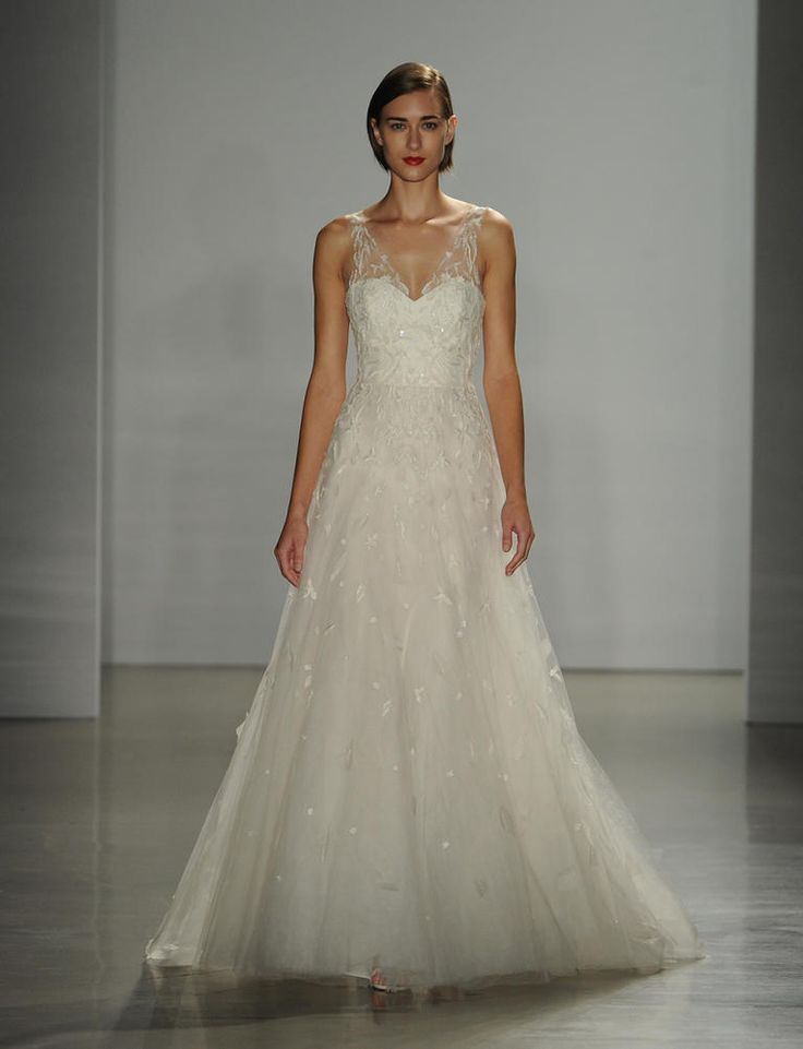 Modern Romance Wedding Dress : Amsale wedding dresses romantic g