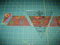 L' Fair Quilts: Scrappy Half Hexagon Quilt Pattern