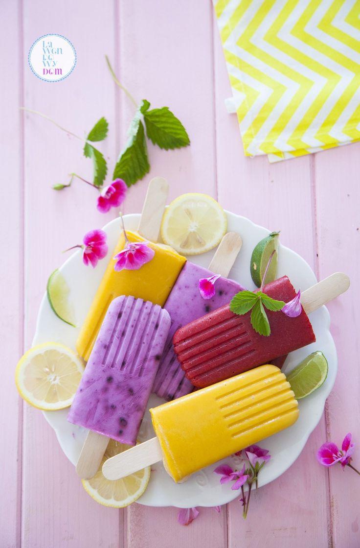 domowe lody owocowe bez maszynki