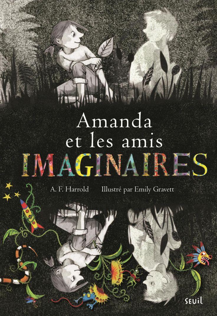 Amanda et les amis imaginaires : une autre oeuvre coup de coeur finaliste au Prix jeunesse des libraires – J'enseigne avec la littérature jeunesse
