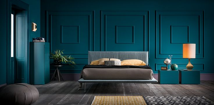 Plissé #letto #bed #letto imbottito #padded bed