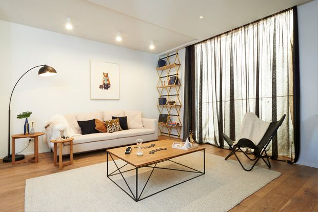 Alex and Corban's Family Room - Room Reveal Galleries - Room Reveals - Alex and Corban - Teams - The Block NZ - Shows - TV3....2014