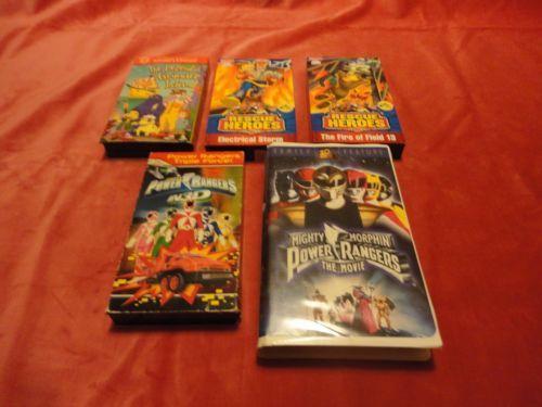 DISNEY,POWER RANGERS, POKEMON, RESCUE HEROES, SCOOBY DOO VHS VIDEOS by ezybreezysales
