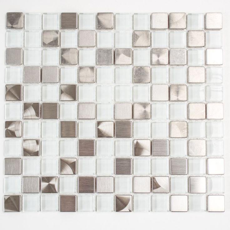 MOSAIK METALL MIX KOPPAR/GLAS - Mixmosaik - Mosaik - Kakel & Klinker - Golv & Kakel