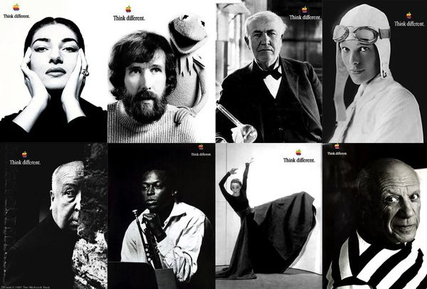 The Real Story Of Apple's 'Think Different' Campaign   Branding Strategy Insider