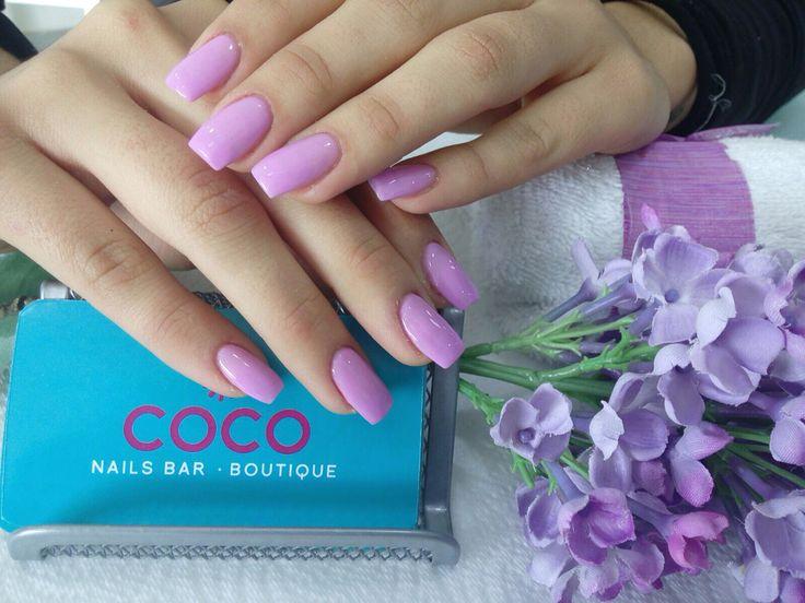 Tourmaline Acrilyc Nails @coconailsbar