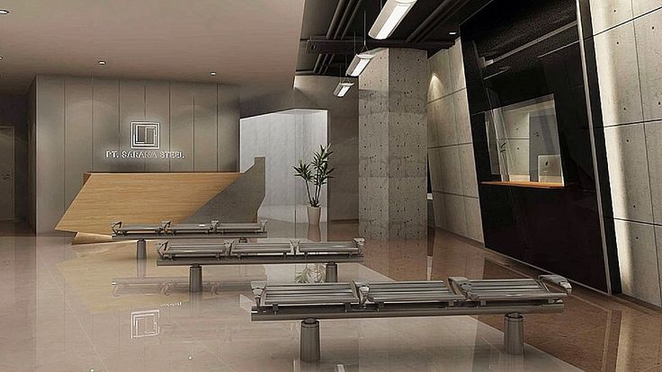 Interior Design | Office Project | Sarana Steel - Vendor Waiting Room