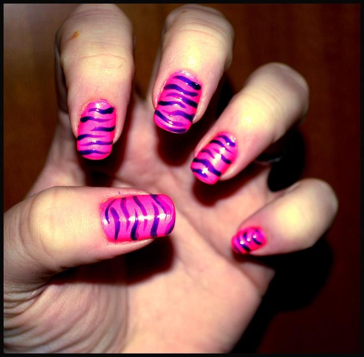 """""""Zebra"""" decorazione a smalto 10€"""