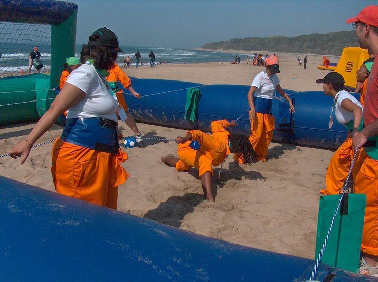 Beach Foosball - Supertouch Events