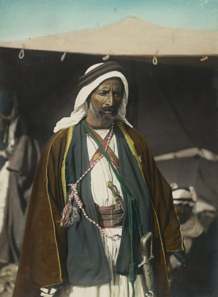 Auda bin Harb Abu Saeed al-Mazro al-Tamimi Abu Tayi,(1874? – 1924) was the leader of a section of the Huwaytat tribe of Bedouin Arabs at the time of the Great Arab Revolt during the First World War. Auda was a significant figure in the Arab Revolt; outside Arabia he is mainly known through his association with British Col. T. E. Lawrence. The two worked together to take Aqaba.