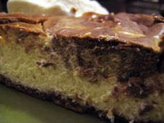 NOT PALEO but very low carb and grain-free...    Peanut Butter Chocolate Swirl Cheesecake - Low Carb   Baconpalooza