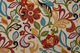 Richloom Wildwood Printed Polyester Outdoor Fabric in Jubilee $8.95 per yard