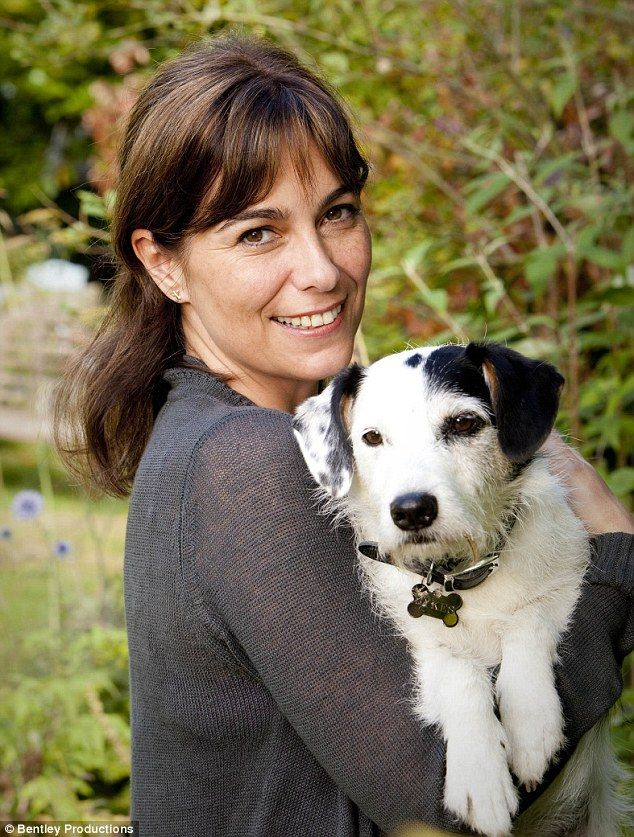 Crime-fighting canine: Sykes the Jack Russell, seen here with co-star Fiona Dolman, has joined the cast of the new series of Midsomer Murders