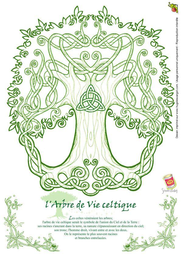 Les 25 meilleures id es de la cat gorie symboles celtiques - Symbole de la vie tatouage ...