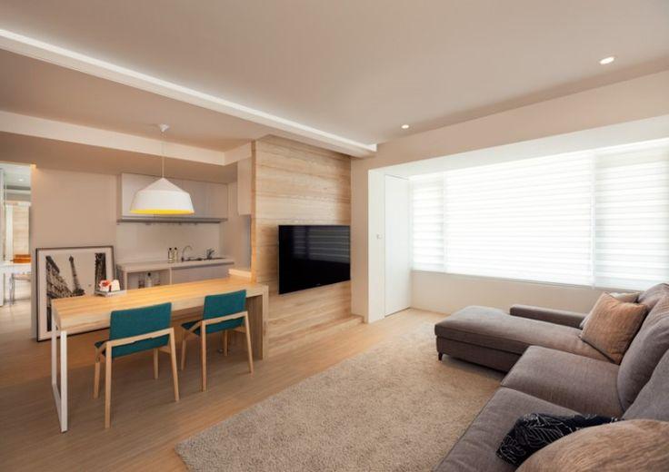 깨끗하고 단순한 현대적 미학의 아파트 인테리어 : 네이버 블로그