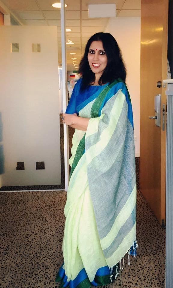 Office wear cotton saree