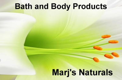 Marj's Naturals consists of products especially handmade by a Registered Nurse and Makeup Artist in California USA who is passionate about creating beautiful things to help maintain and enhance someone's beauty naturally and healthfully.  http://www.marjsnaturals.host56.com/