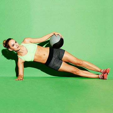 Flat-Abs Formula: Target your deep abs and obliques with this Loaded Hip Dip exercise